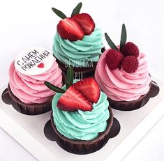 Cupcake Wars, Fun Cupcakes, Confectionery, Cupcake Recipes, Mothers, Wedding Cakes, Bakery, Deserts, Cherry
