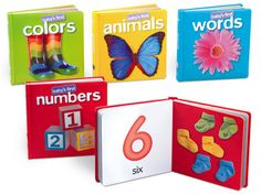 Every time toddlers turn a page in our board books, they discover a new word! Our set includes 4 durable board books, each with real-life photos that help children associate pictures with words. Books are 24 pages long. Toddler Books, Childrens Books, Toddler Stuff, Autism Preschool, Life Skills Classroom, Classroom Ideas, Babies First Words, Board Books For Babies, Lakeshore Learning