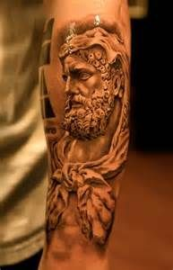greek god tattoo for men - Yahoo Search Results