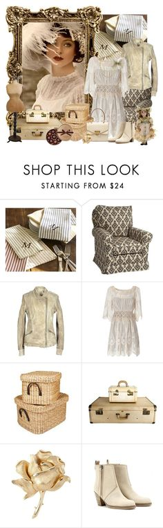 """""""Geen titel #1197"""" by muha-395 ❤ liked on Polyvore featuring Pottery Barn, Little Castle, VINTAGE DE LUXE, Alberta Ferretti, Laura Ashley, CO, Susan Caplan Vintage, Acne Studios and Chanel"""