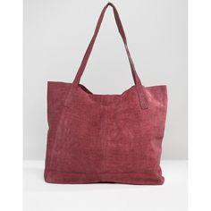 521c846729a Compra Bolso shopper con diseño en relieve de efecto piel de cocodrilo en  ante de ASOS en ASOS. Descubre la moda online.