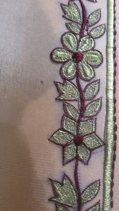 Embroidery Suits Punjabi, Embroidery Suits Design, Hand Embroidery Designs, Patiala Salwar Suits, Churidar, Punjabi Suits Designer Boutique, Simple Machines, Flower Embroidery, Islam Quran