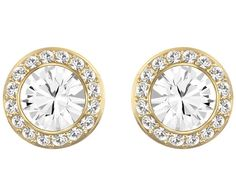 A classic pair of pierced earrings can enhance just about any outfit. This pair of gold-plated button pierced earrings does just that! Each piece... Shop now