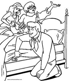 28 Best Scooby Doo Coloring Sheets Images On Pinterest
