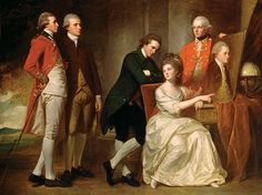 The Beaumont family, by George Romney. 1777–79.