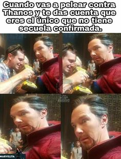 Read from the story Memes de Marvel by MssMarvel (Ana) with reads. Memes Marvel, Dc Memes, Marvel 3, Avengers Memes, Marvel Funny, Funny Memes, Jokes, Marvel Universe, Pinterest Memes