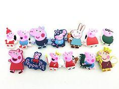 13pcs Peppa Pig New Shoe Charms for J…