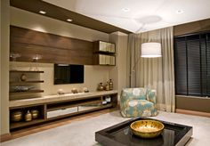 45 amazing wall tv cabinet designs for cozy family room 7 Living Room Tv, Home And Living, Foyer Mural, Home Interior, Interior Design, Tv Cabinet Design, Cozy Family Rooms, Home Theater Design, Apartment Design
