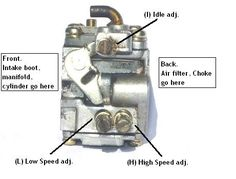 Adjustment and Tuning of a Chainsaw Carburetor - Lawn Mower Lawn Mower Maintenance, Lawn Mower Repair, Chainsaw Repair, Stihl Chainsaw, Ryobi Chainsaw, Chainsaw Mill, Carburetor Tuning, Tractor Mower, Apartments
