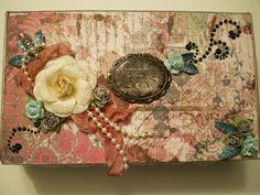 Altered Cigar Box by Marla Rizzo, via Flickr