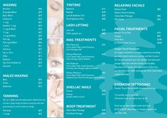 gfnaturalbeauty | MENU OF SERVICES  Michelle at Glen Forrest Natural Beauty for eyebrows