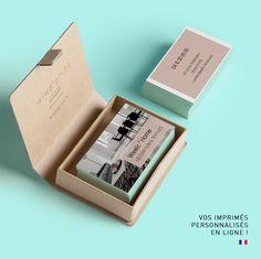 Carte De Visite Sobre Contemporaine Et Moderne Pour Un Magasin Dcoration Dcouvrez Tous Nos Modles Supports Communication Personnalisables