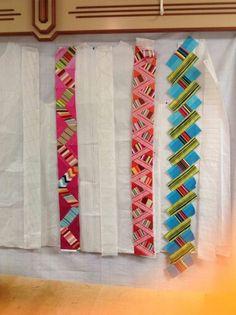 Rachel Clark's stripes Rachel Clark, Plaid Quilt, Wearable Art, Sewing Ideas, Quilt Patterns, Quilting, Crafting, Stripes, Jacket