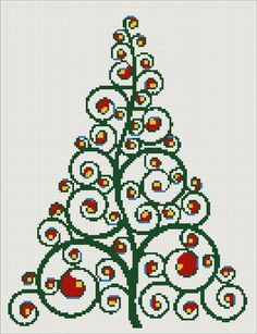 I am so excited to show off our new christmas trees in cross stitch kits, patterns or charts. They are modern and abstract designs, I am su...