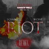 """2 Chainz feat. 50 Cent    #New #Music """"Riot"""" (Remix) Listen @ http://tweetmysong.com/882dubo"""