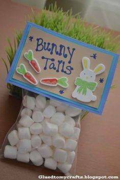 Easter treats that would be easy to make for our Easter Bunny Bash for the Imagination Library!