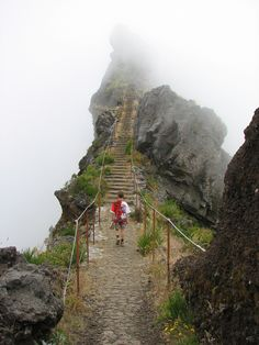 The way in the clouds, Pico de Arieiro / Portugal