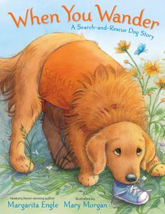 Week 4: A sweet book about Search-and-Rescue Dogs. Can read for additional information about rescue