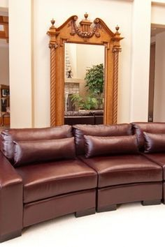 Loft Top Grain Leather Dual Chair Sectional