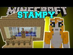 Minecraft: STAMPYLONGHEAD MOD (LOVELY HOUSE, IBALLISTICSQUID, & ROCKET!) Mod Showcase - YouTube