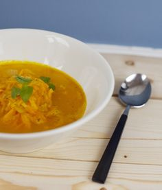 Orange & Carrot Soup by Green Kitchen Stories