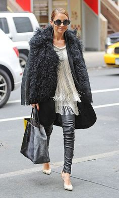 Love this leather & fringing