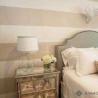 Cream and tan striped wall