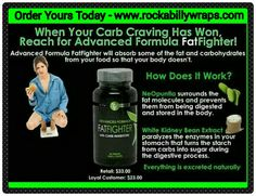 """Fat Fighters with Carb Inhibitors Have a sweet tooth? A carb craving? It's okay to indulge every once in a while when you have Advanced Formula Fat Fighter with Carb Inhibitors! Simply take Fat Fighter up to an hour after eating, and it will absorb some of the fat and carbohydrates from your food so that your body doesn't. Powered by NeOpuntia™ (a naturally based ingredient made from the """"prickly pear"""" cactus) and the It Works! proprietary blend, Advanced Formula Fat Fighter delivers…"""
