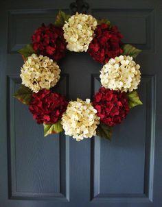 Holiday Door Wreath - Christmas Wreath - Outdoor Door Wreaths - Wreath - Christmas Decor - Seasonal Wreath