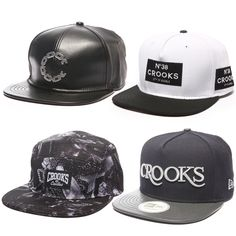 Dope new snapbacks in from Crooks   Castles! Gorras 8ff1c50730e