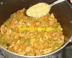 آموزش آشپزی , سفره خونه ، شیرینی پزی ، هنر , آلانیا - پلو سبزیجات معطر آسیایی