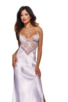 Dreamgirl Women's To Have and To Hold Full Length Gown and Thong, White, X-Large Dreamgirl http://www.amazon.com/dp/B00AO5NORM/ref=cm_sw_r_pi_dp_pb-7tb0B6EVAW