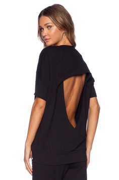 Vimmia Tranquility Pullover in Black | click through to shop