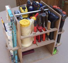 Festool Tools, Festool Systainer, Dewalt Tools, Dewalt Storage, Tool Storage, Tool Tote, Tool Cart, Milk Crates, Ideas Para Organizar