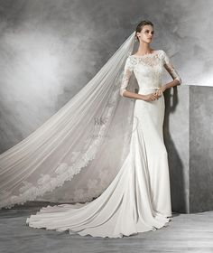 RK Bridal - Pronovias Bridal Spring 2016 - Style Tane
