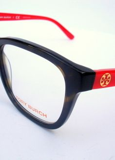 fbebfd5888be4c Tory Burch Women Eyeglasses NEW - New and Authentic Tory Burch Eyeglasses  For Rx lenses Brown and red frame Size Includes original case