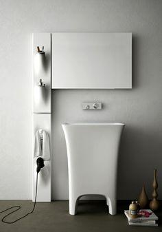 Sotto Sopra design Meneghello Paolelli Associati #washbasin #bathroom #design #accessories