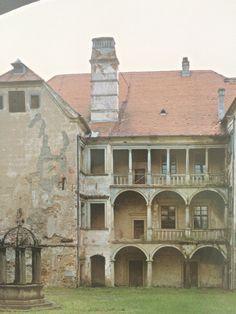 abandoned castle Brtnice
