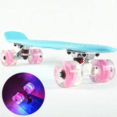 "61.50$  Watch here  - ""22""""peny board original complete Skateboard Retro Mini Skate long board cruiser longboard skate long board wheels ruedas de skate"""