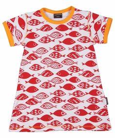 Maxomorra tunic top, fishes - dresses & skirts
