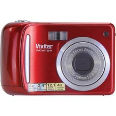 Vivitar 12.1MP HD Digital Camera with 2.4-Inch LCD VT324-STRAWBERRY | My Canon Digital Camera
