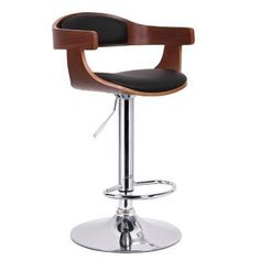 Shop Staples® for Baxton Studio Garr Faux Leather Bar Stool, Walnut/Black. Enjoy everyday low prices and get everything you need for a home office or business. Get free shipping on orders of $49.99 or greater. Enjoy up to 5% back when you become