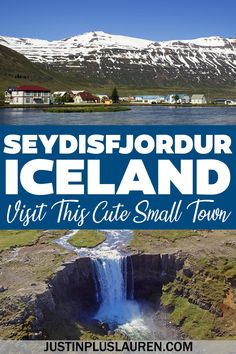Seydisfjordur is a beautiful little town in East Iceland that you must visit. Here are the best things to do in Seydisfjordur, Iceland, for an amazing addition to your Iceland road trip. Seydisfjordur Iceland | Best small towns in Iceland | Iceland travel itinerary | Iceland bucket list | Places to go in Iceland | Places to visit in Iceland | Ring Road road trip | Iceland road trip itinerary | Iceland travel guide | East Iceland Town Iceland Road Trip, Iceland Travel Tips, Europe Travel Outfits, Europe Travel Guide, European Vacation, European Travel, Iceland Places To Visit, Life Inspiration, Travel Inspiration
