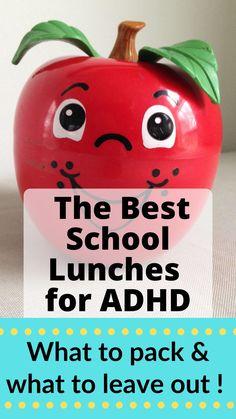 Autism Help, Adhd Help, Adhd And Autism, Lunch Box Recipes, Lunch Ideas, Preschool Classroom Decor, Adhd Diet, Healthy School Lunches, School Fun