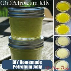 DIY Home Things - http://www.diyhomethings.com/homemade-petroleum-jelly-for-silky-smooth-skin/