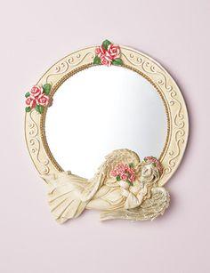 Angelic Cherub Wall Mirror