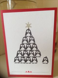 Great beautiful Christmas card with cats received apple stamp image – Bloğ Beautiful Christmas Cards, Christmas Diy, Holiday, Xmas Cards, Diy Cards, Card Making Tutorials, Creative Gifts, Cardmaking, Birthday Cards