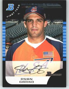2005 Bowman Draft 133 Ryan Garko FY - Cleveland Indians (RC - Rookie Card) (Baseball Cards) ** Read more  at the image link.