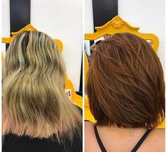 Why not get a haircut and dye at the same time?   15 Before And After Photos That Will Make You Want To Change Your Hair Right This Second