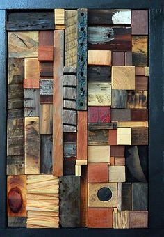 The Long & Short of It: Heather Patterson: Wood Wall Art - Artful Home